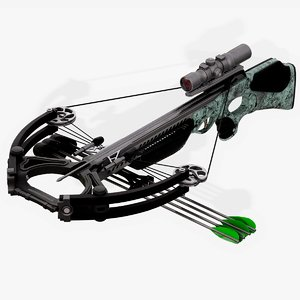 3D crossbow ghost 420 model