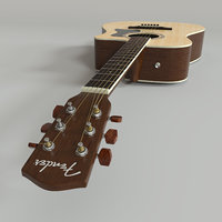 acoustic guitar fender model