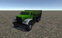 industrial cargo truck 3D model