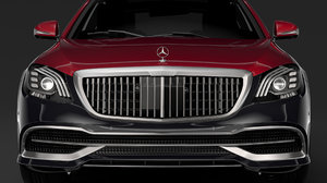 mercedes maybach s 560 3D model