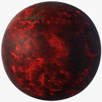Lava Planet - Super-Earth 55 Cancri