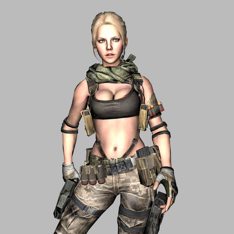 3D warrior nata