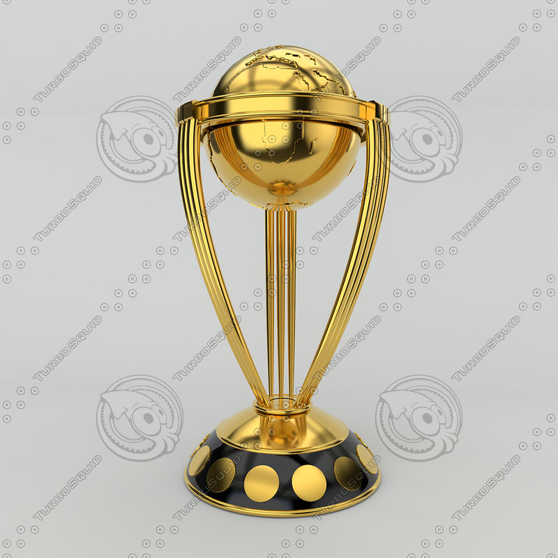 3D cricket world cup model
