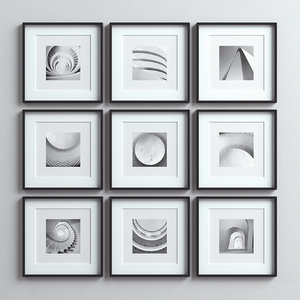 3D frames picture set