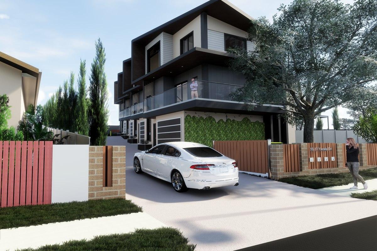 3D townhouses australia revit