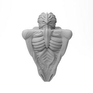 3D figurine necronomicon