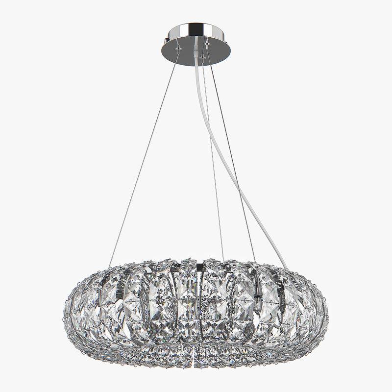 chandelier 741064 onda lightstar 3D model