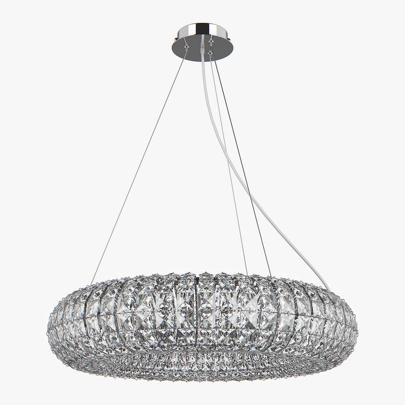 chandelier 741104 onda lightstar model