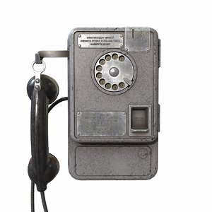 3D ussr payphone amt-47