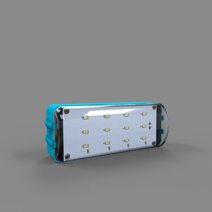led light 3D model