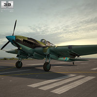 3D model ilyushin il-2 il