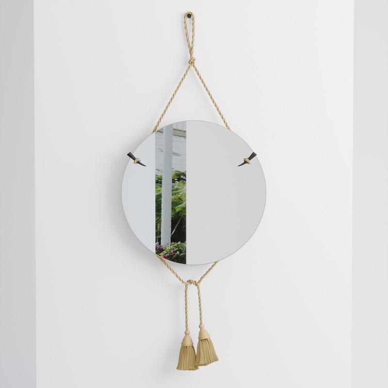 bohemian style carlo mirror model