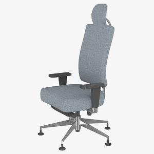 3D medical armchair model