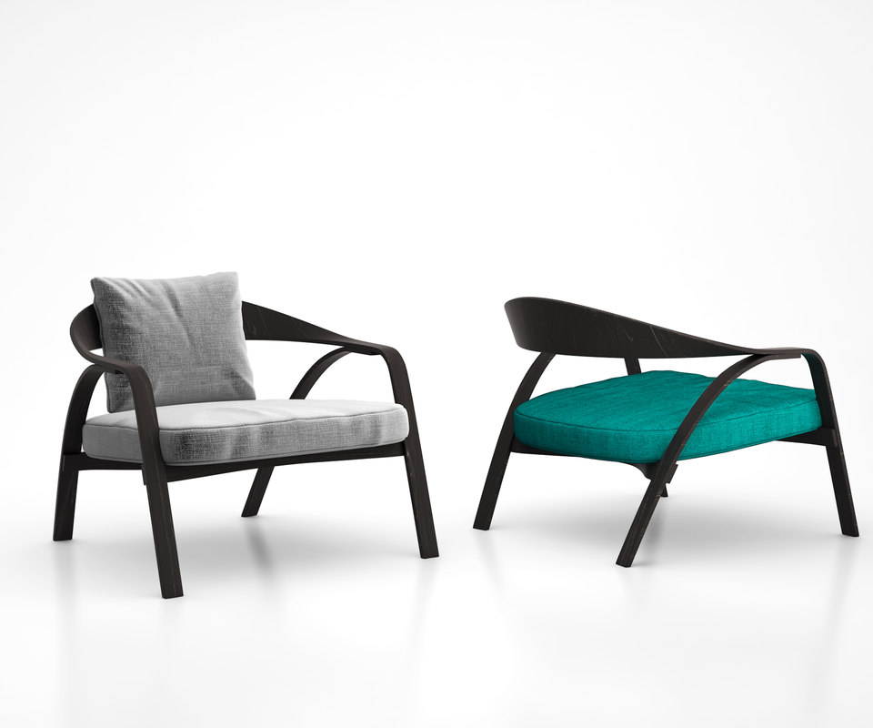 grillo armchair true design interior model