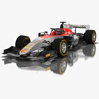 campos vexatec racing formula 3D model