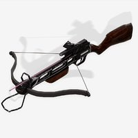 3D crossbow scorpion model