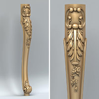 Furniture leg 014