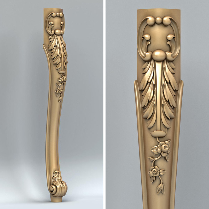 furniture leg model