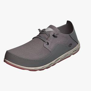 3D model boat shoes