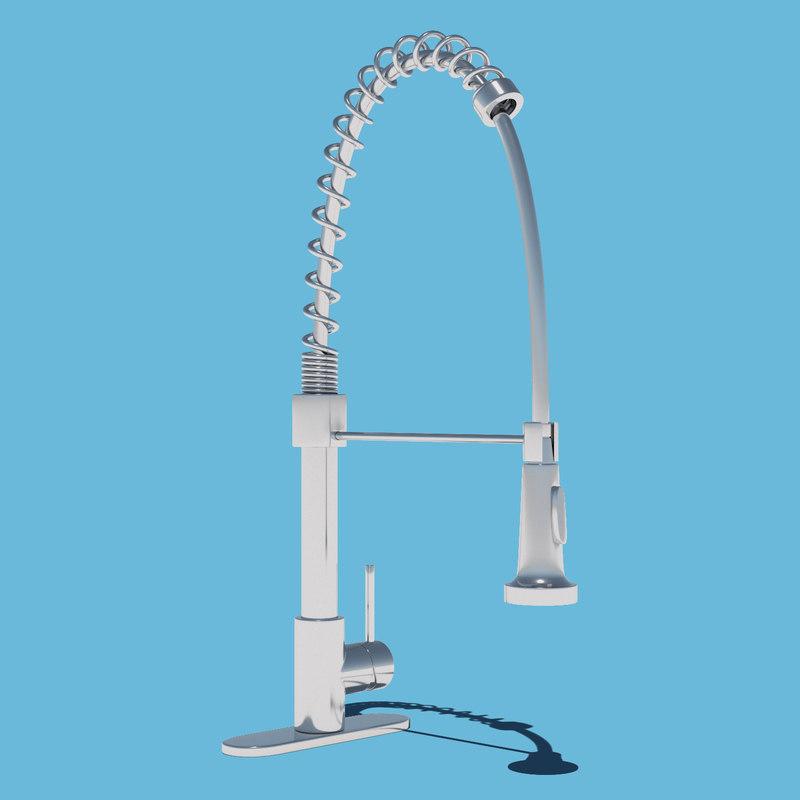 3D modern faucet model
