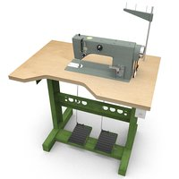sewing machine 3D