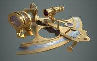 sextant pbr 3D model