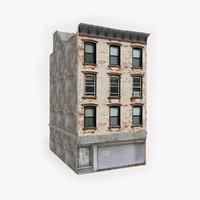 ready apartment building 3D model