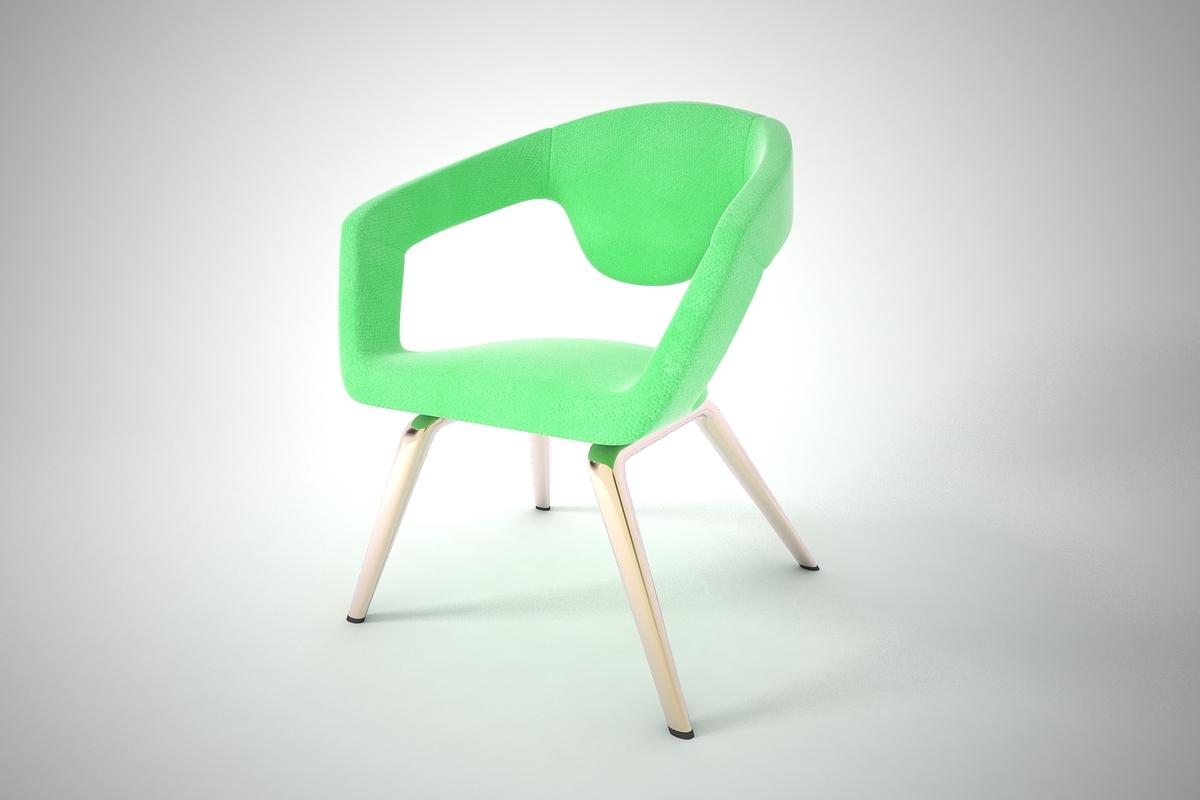 3D furnishings furniture chair