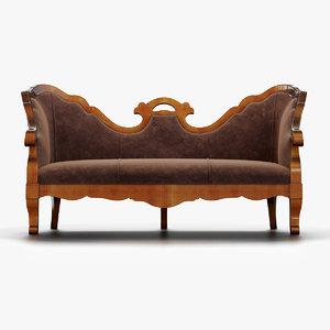 annibale colombo sofa 3D model