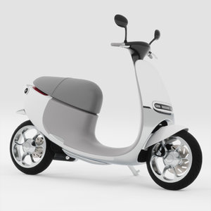 3D gogoro electro scooter model