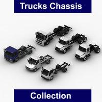 trucks chassis freightliner isuzu 3D