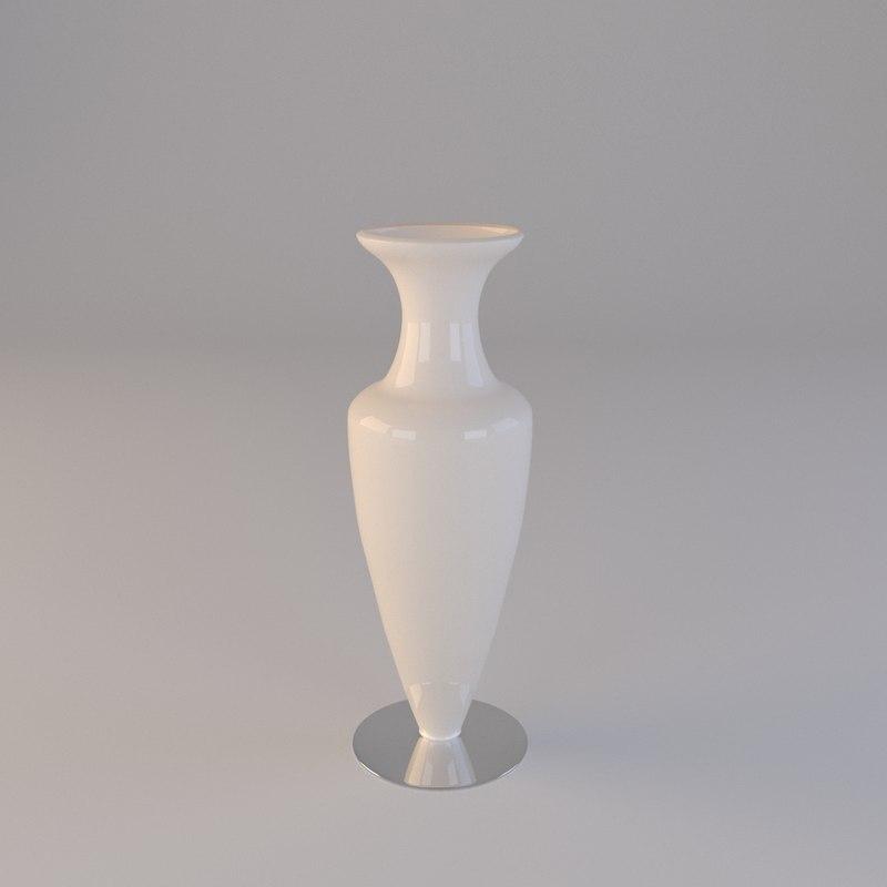 3D model ceramic vase henrietta