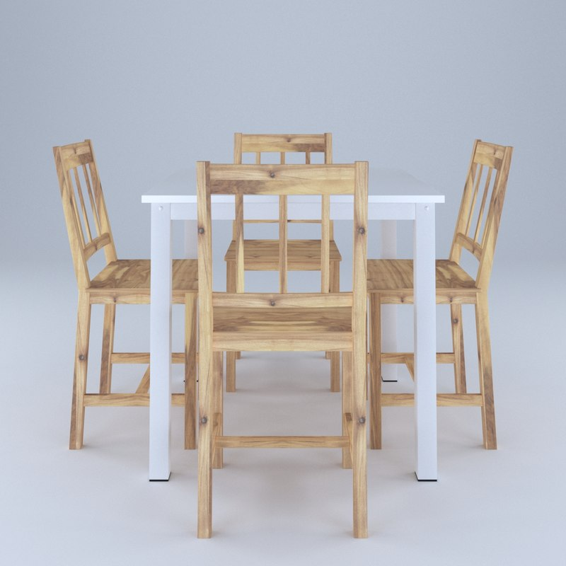 table chair country model