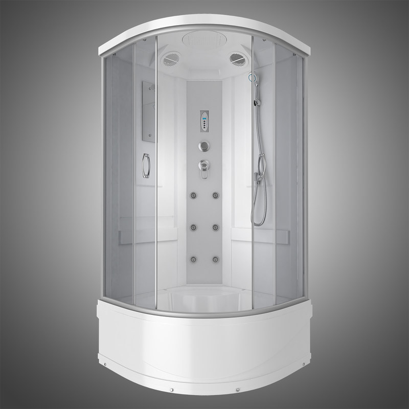 shower cabin 3D