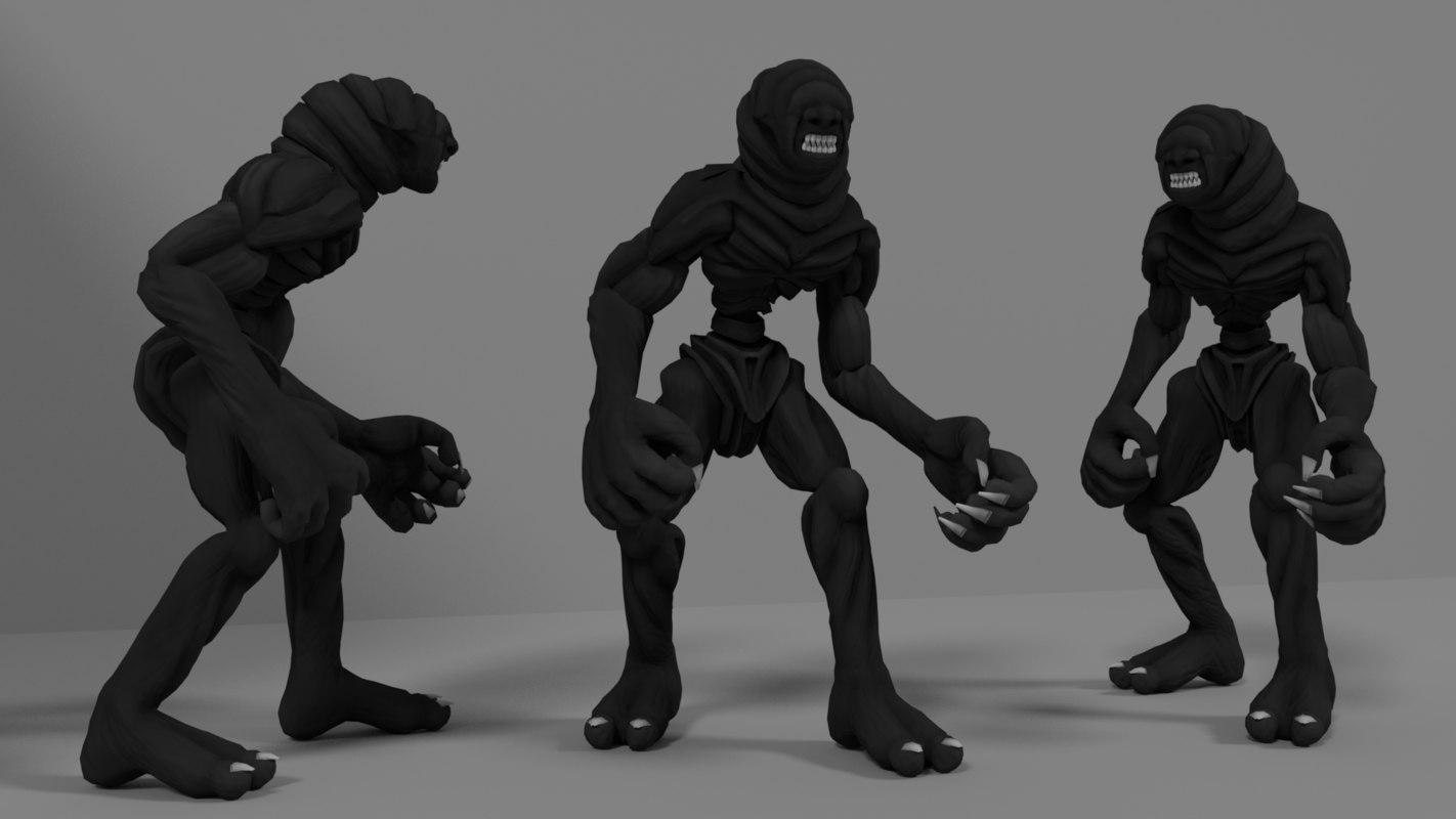 monster sniffer 3D model