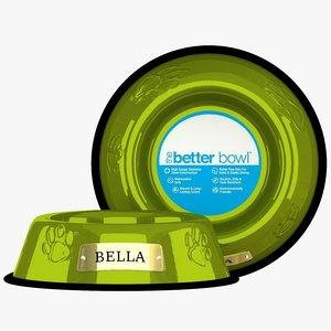 3D large bowl corona lime model