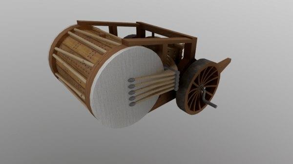 drum vinci 3D model