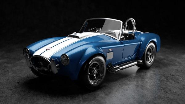 3D cobra vehicle