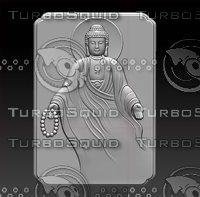 3D stl buddha