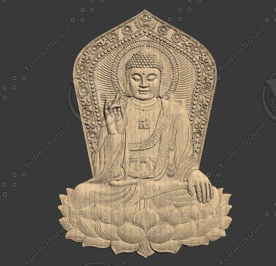 relief sculpture statue 3D