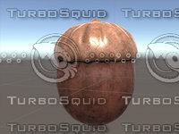 3D model acorn prop