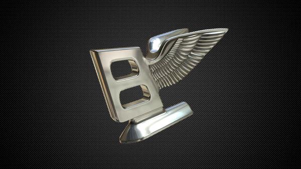 bentley hood ornament 3D model