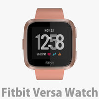 Fitbit Versa Watch Gold Aluminum