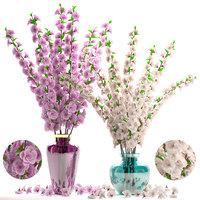 sakura bouquet vase 3D model