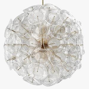 cornelio cappellini richmond chandelier 3D model