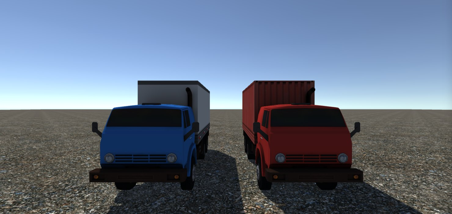 3D model - industrial truck