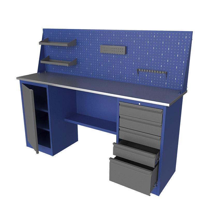 3D workbench work bench