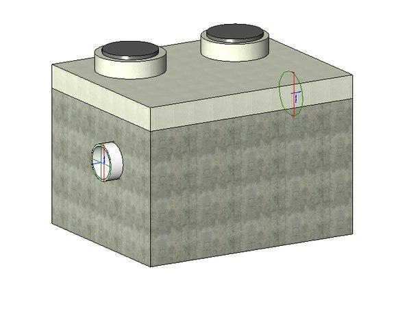 septic 3D model