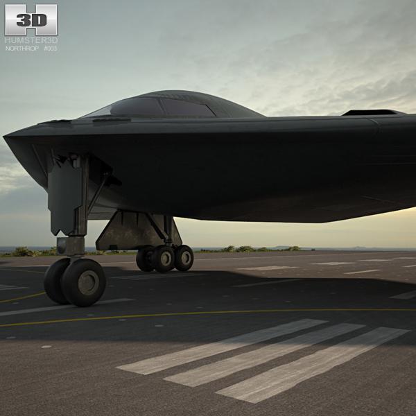 northrop b-2 2 3D
