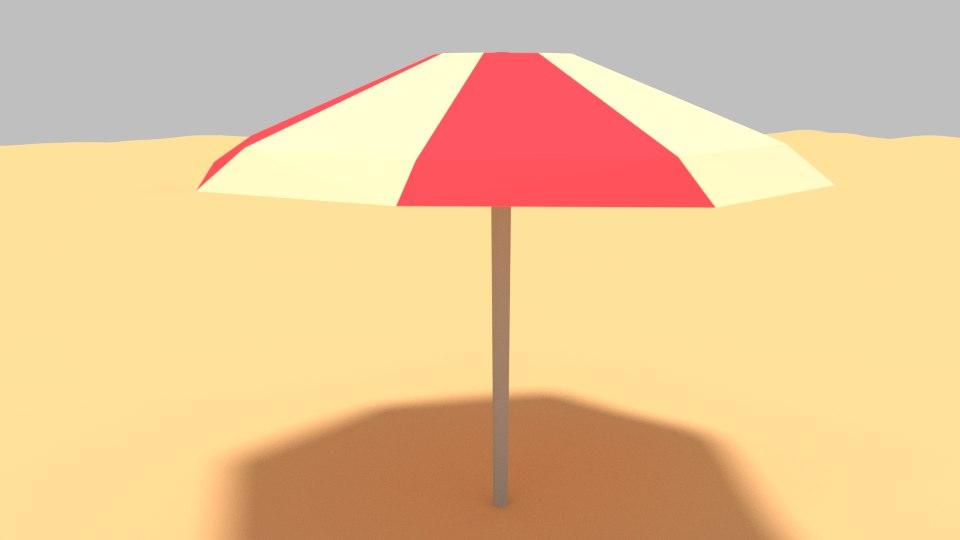 beach umbrella model